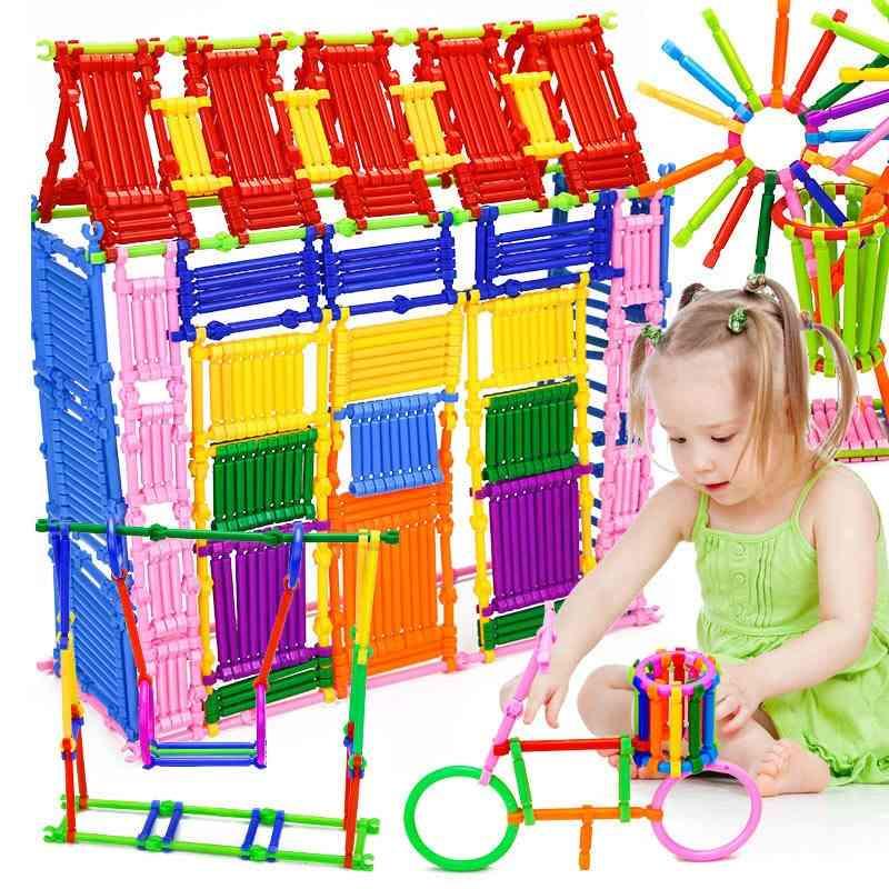240pcs Buckle Building Blocks- Smart  Educational Learning