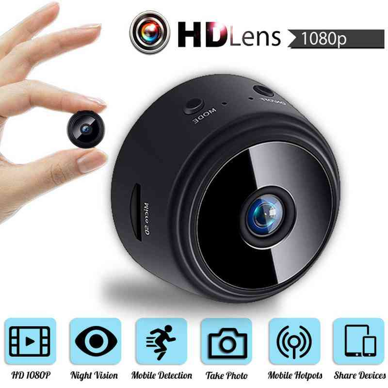 Wifi Mini Camera Wireless Home Security Camera 2.4ghz Wifi Support Remote