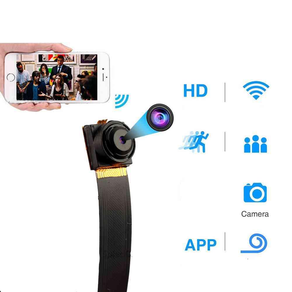 1080p Full Hd, Ultra-mini Wifi Flexible Surveillance Camera