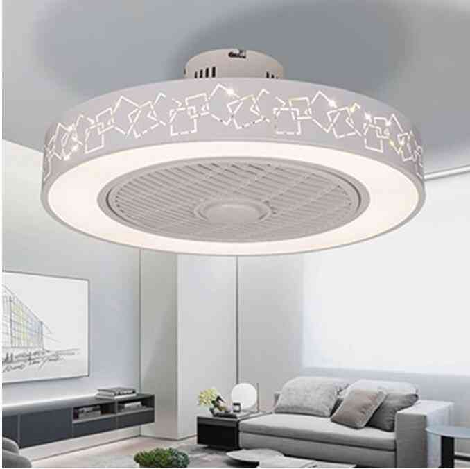 Led Remote Control Ceiling Fans Lamp - Modern Simple Home Decoration