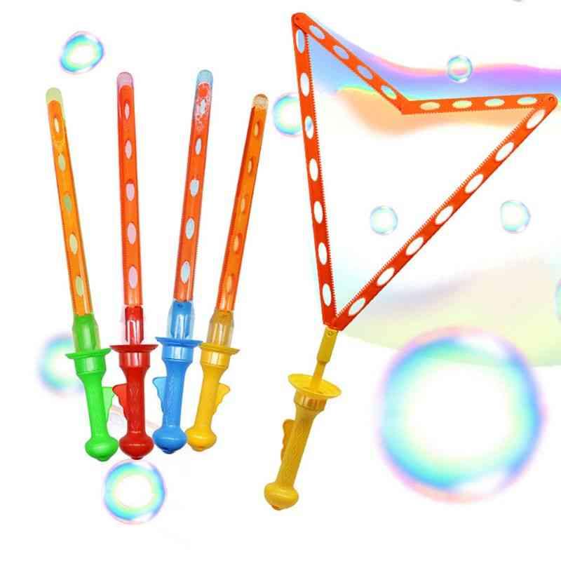 Large Bubble Blower-western Sword Shape Toy For Kids