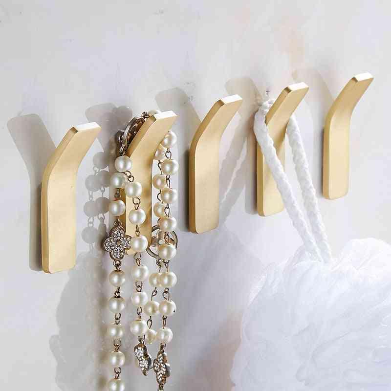 Brass Gold Wall Hook For Bathroom