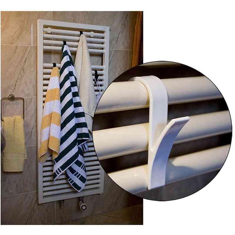 Storage Hanging Towel Mop Hooks For Bathroom