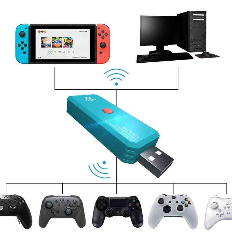 N100plus Ns Wireless Adapter, Bluetooth Game Controller Converter