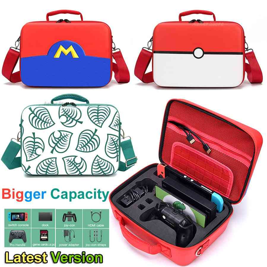 Switch Carrying Storage Case Eva Deluxe Protective Big Bag