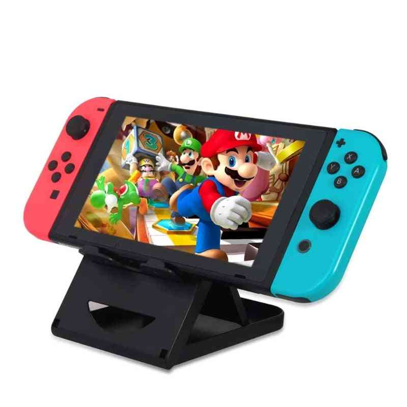 Foldable Abs Compact Bracket Play Stand Holder - Switch Console Controller