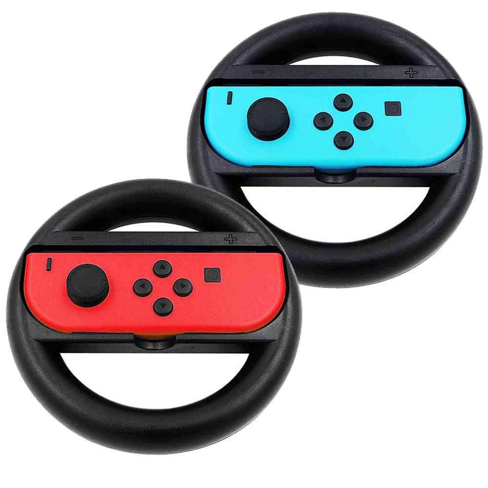 Nintendo Switch Racing Game - Wheel Controller, Ns Joy-con Grip Cart Holder