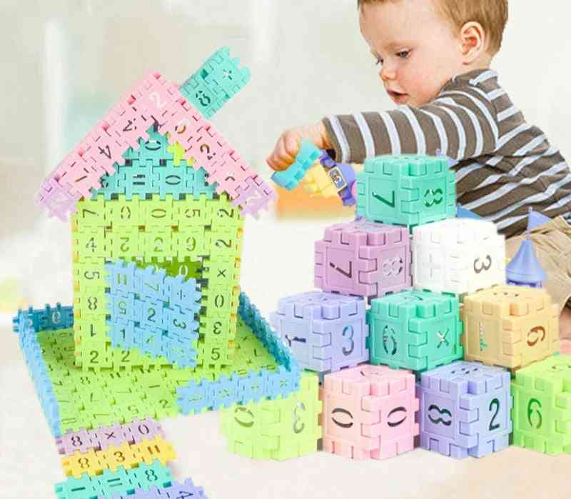 Creative Building Blocks With Numbers-educational