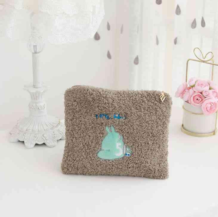 Cartoon Portable Storage Coin Bag Plush