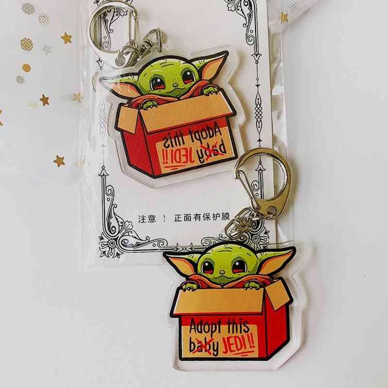 Baby Yoda Keychains Toy