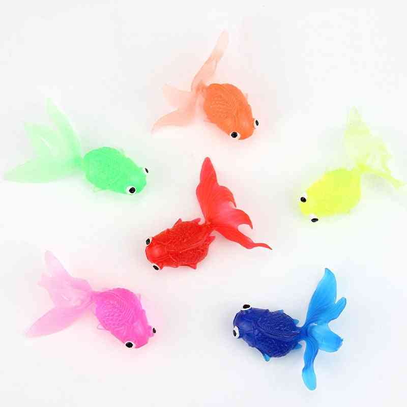 Soft Rubber Goldfish - Simulation Fishing For
