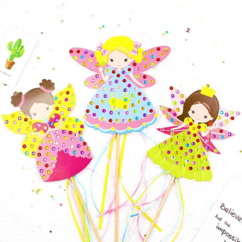 Children Handmade Princess Magic Stick Toy