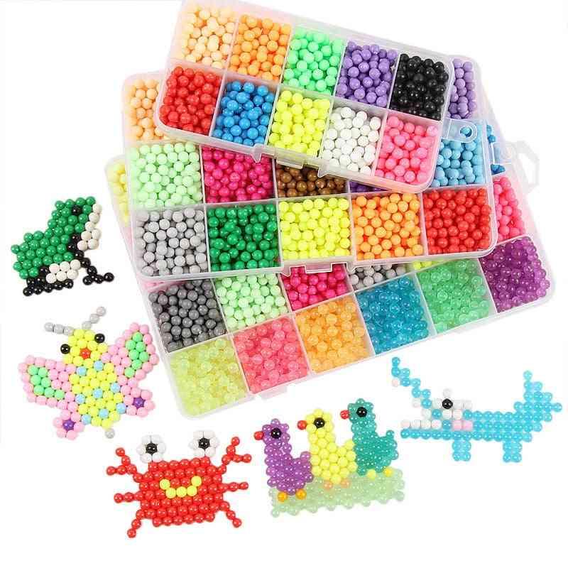 Children Diy Magic Water Sticky Beads - Spray Puzzle