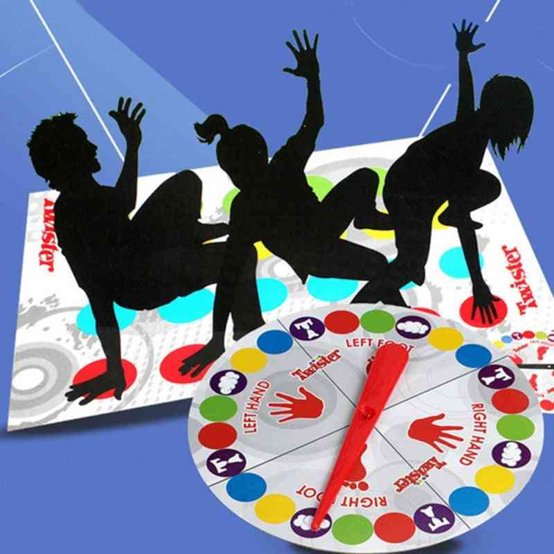 Body Twister, Outdoor Board Game For Family/friends