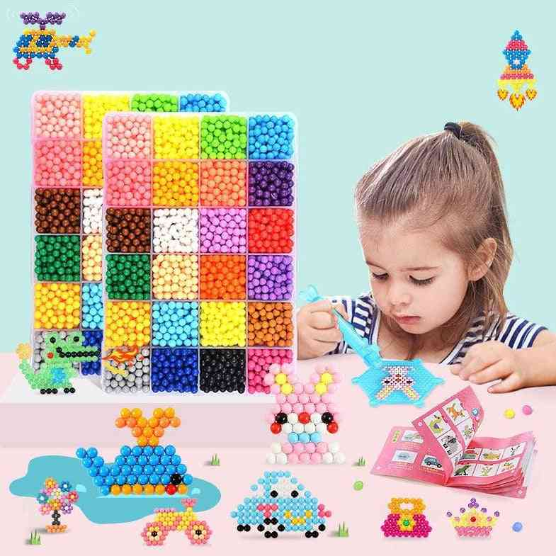 Diy Animal Molds, Hand Made 3d Puzzle, Kids Educational Beads