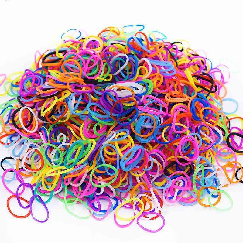 Silicone Rubber Bands Loom Diy Patience For