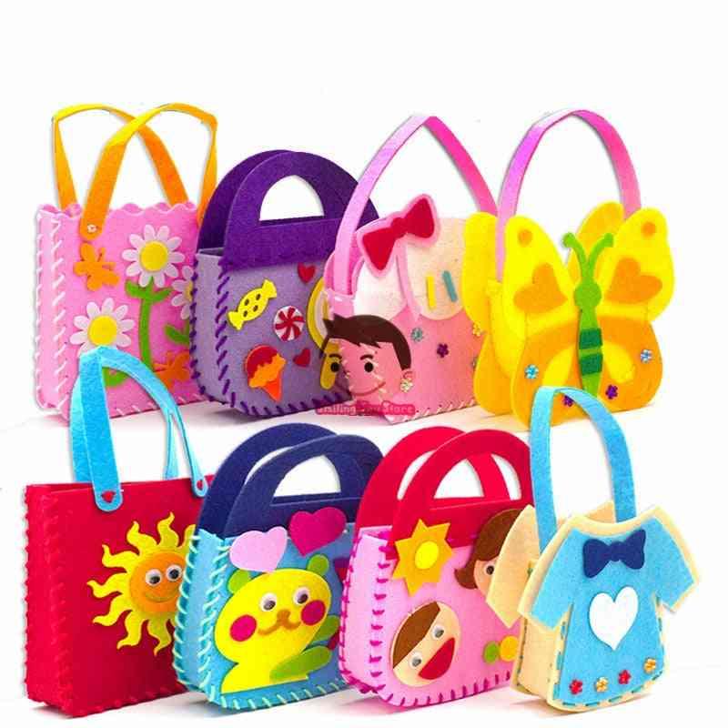 Diy Handbag, Non-woven Fabric-early Learning Education Craft