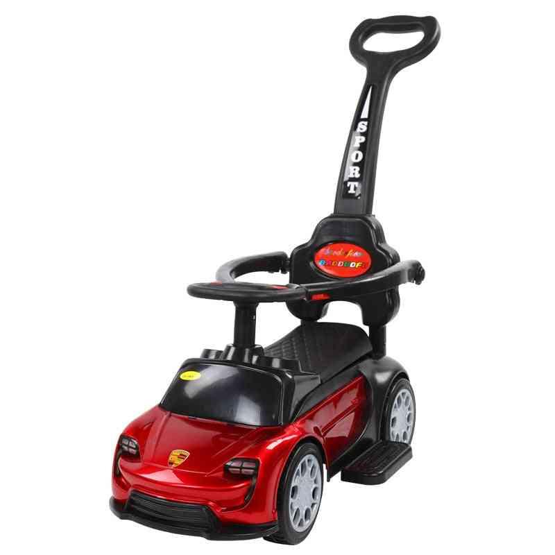 2 In1 Multifunction Steering Wheel-car Design Trolley Toy