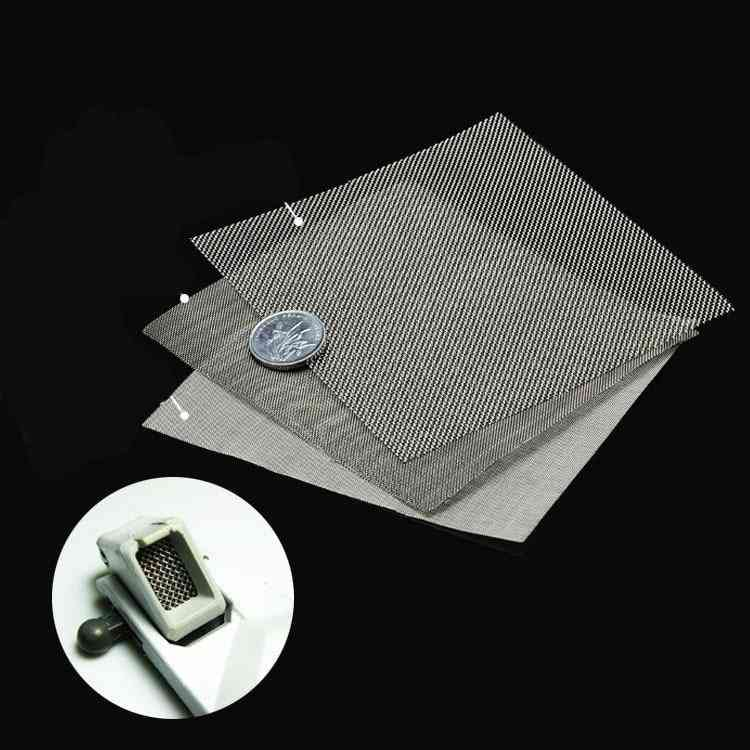 For Gundam Stainless Steel Air Outlet Network Metal Mesh Etched Sheet