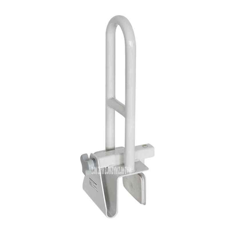 Metal Antiskid Bathtub Safety Grab Bar, Handle - Toilet, Bathroom No Punching Handrail
