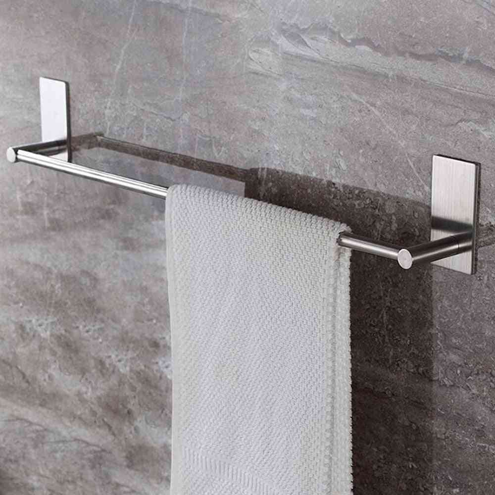 Stainless Steel Fixed Bath Towel Holder, Bar