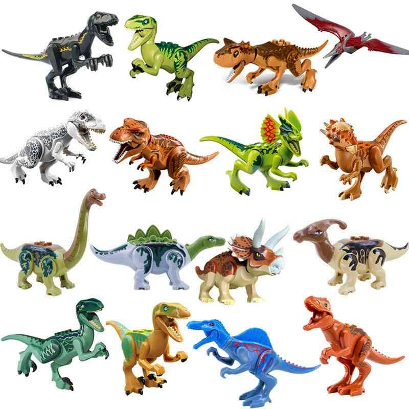 Jurassic Dinosaur -world Building Blocks Series Toy