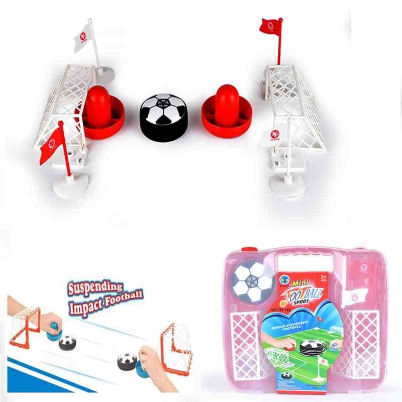 Indoor Suspended Football, Puzzle Double Parent / Child Interaction's Toy- Electric Air Suspended Board Games (1 Set)