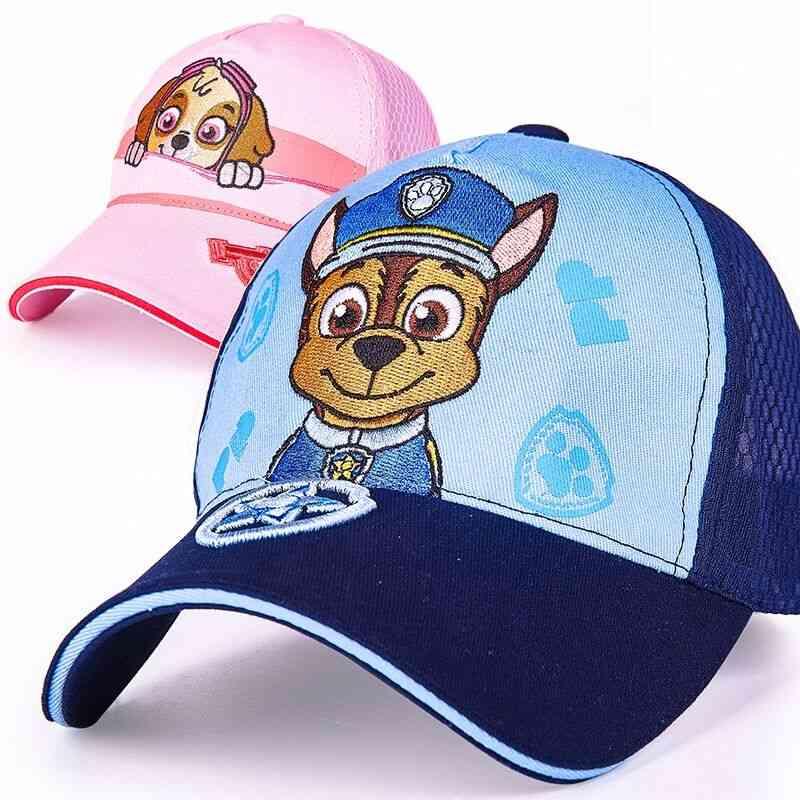 Children's Cap Toy, Puppy Patrol Kis Summer Hats Figure