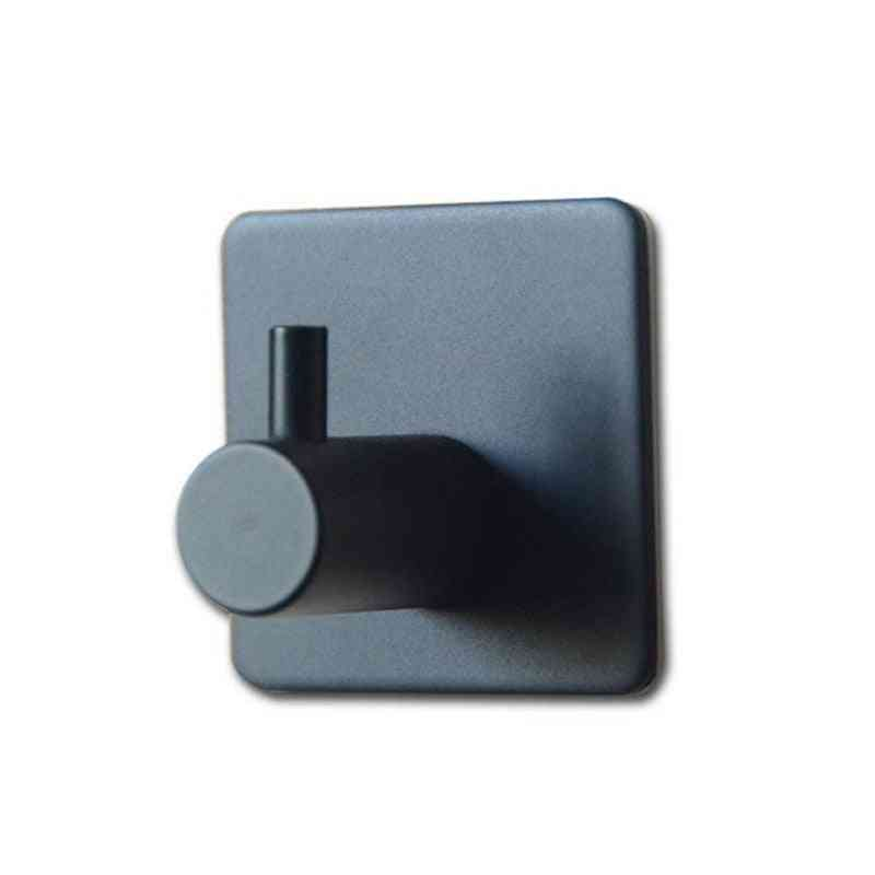 Hooks For Kitchen Door And Wall Hanger - Self Adhesive Robe Stainless Steel