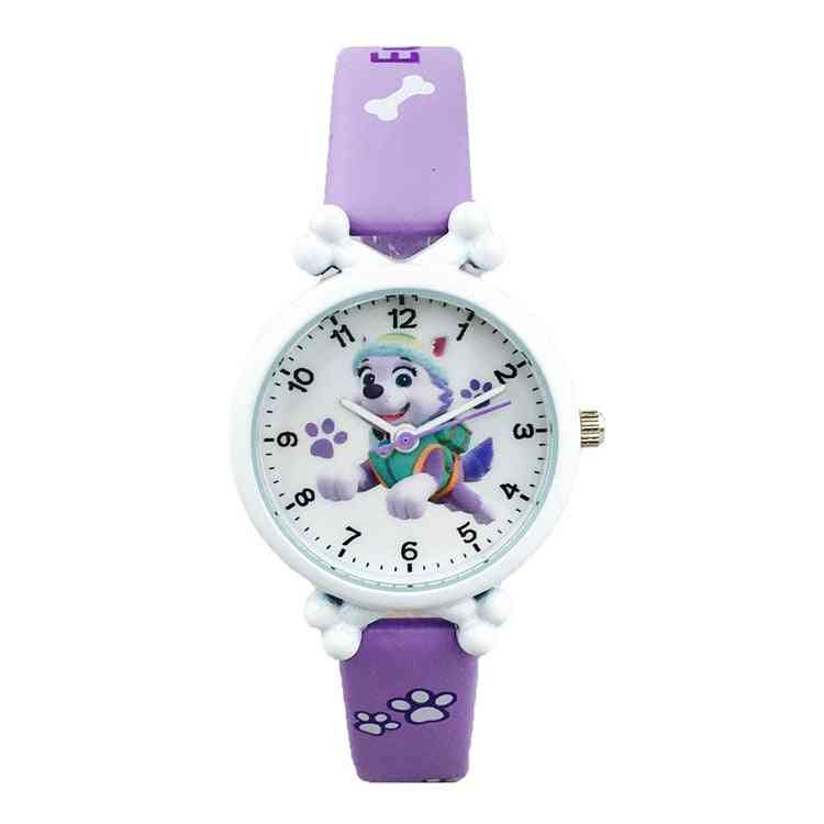Paw Patrol Digital Watch - Everest Action Anime Figure Time Develop Intelligence Learn Dog Toy Of
