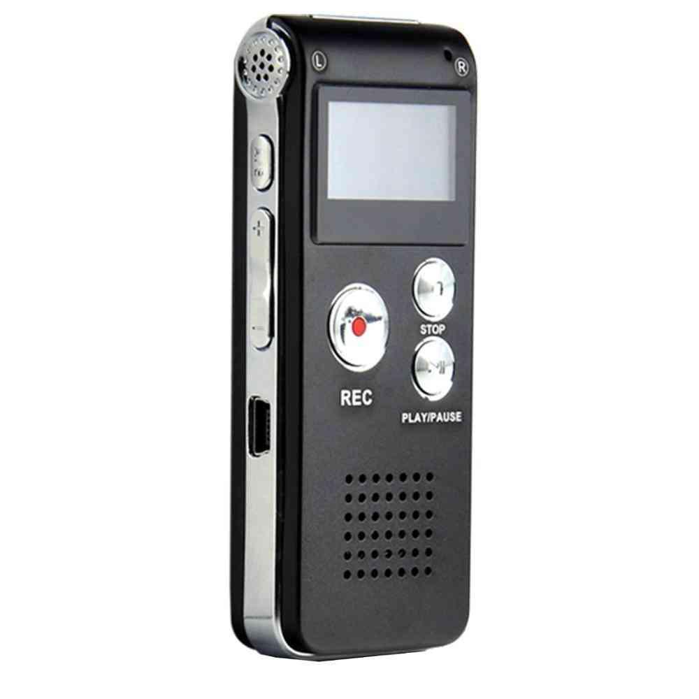 Digital Audio Voice Recorder - Dictaphone Mp3 Player
