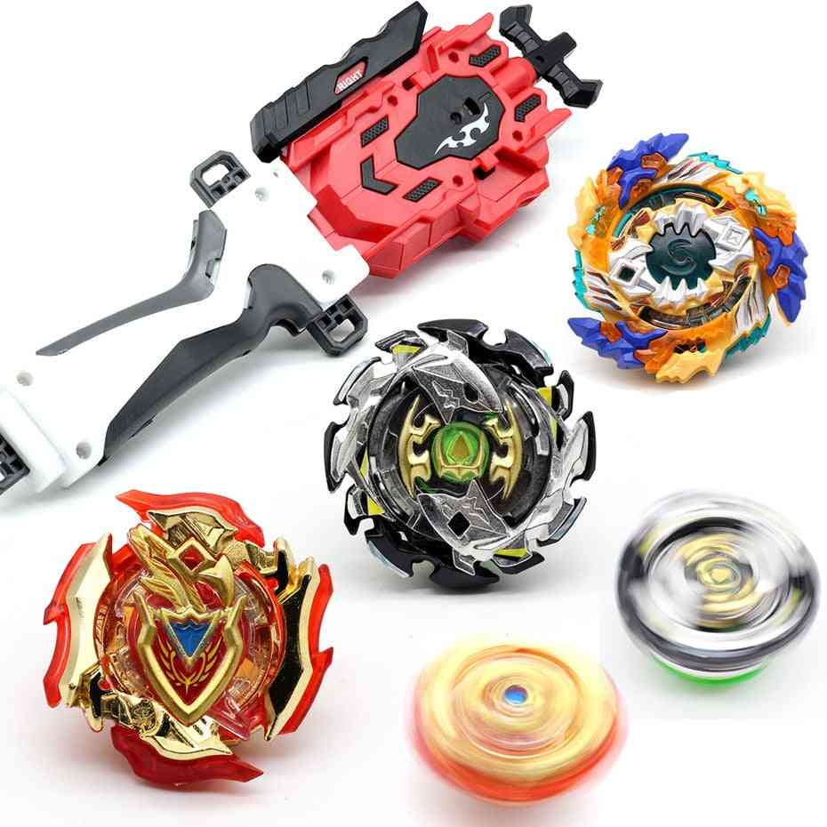 Full Style Beyblade Burst Set - Two Way Wire Launcher