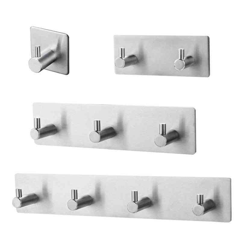 Stainless Steel Wall Towel Hook Hanger For Kitchen Or Bathroom