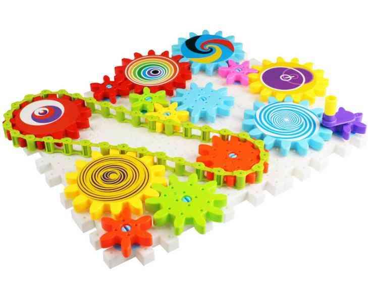 Children's Plastic Building, Gear Blocks