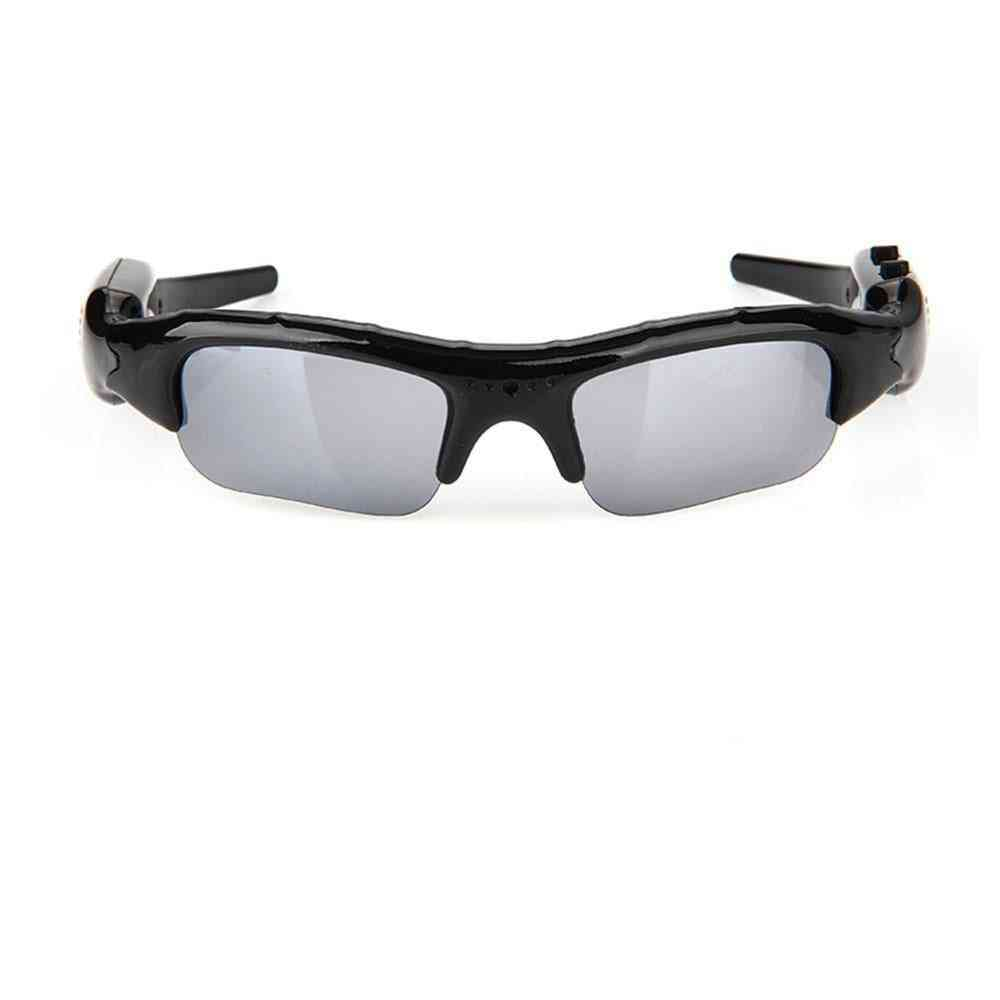 Wearableand Rechargeable Sports Sunglasses With Built-in Camera For Outdoor Activities