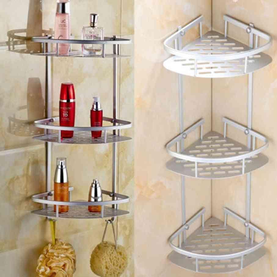 2/3tier, Aluminum Corner Storage Shelves For Bathroom, Kitchen