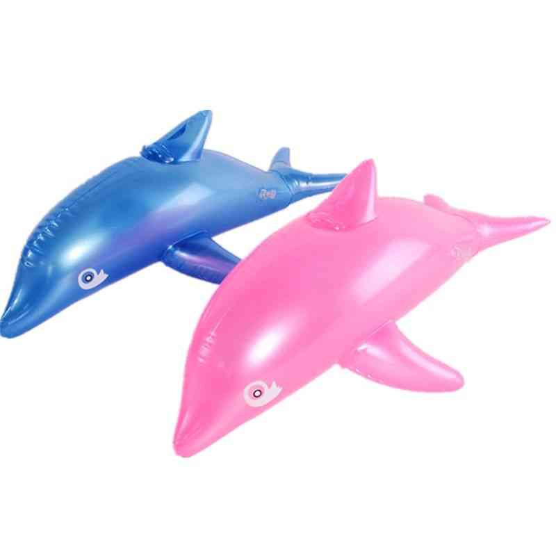 Inflatable Dolphins Bath Beach Pool Baby Toy