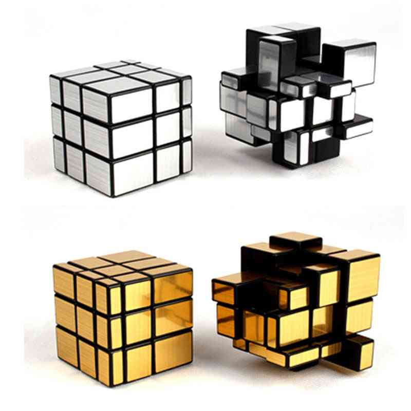 Magic Cube Mirror Shaped - Creative Puzzle Toy