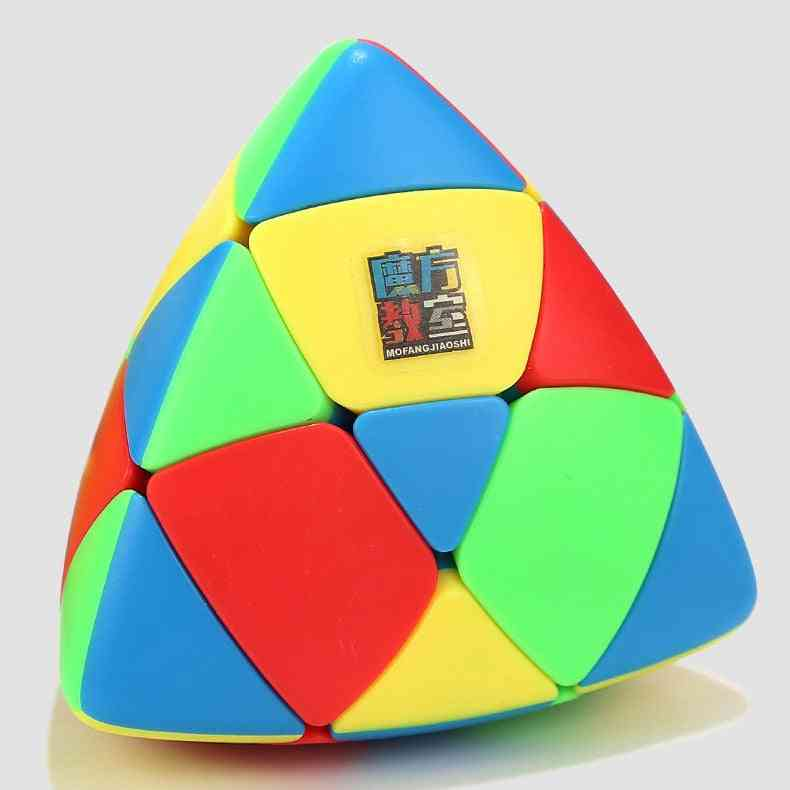 3x3 Puzzle Magic Cube - Professional Pyramorphix Educational Learning Toy For