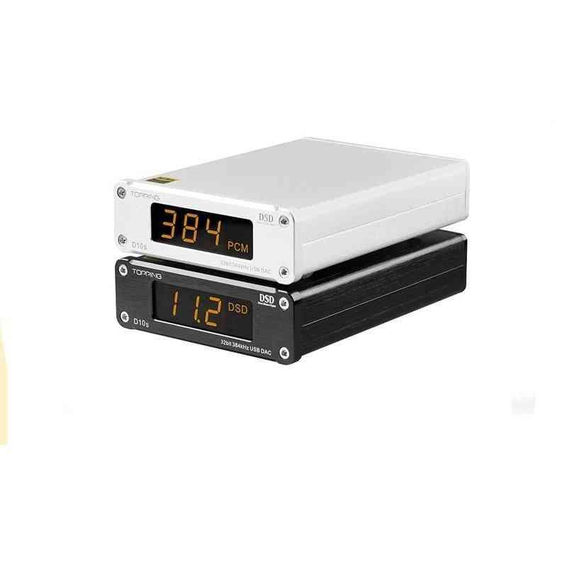 D10s Usb Dac/xmos/xu208 Decodificador, Pcm Optical Coaxial Output
