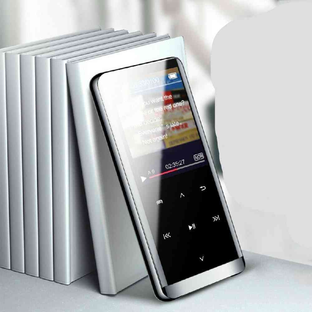 Mini Mp4 Media Wireless Bluetooth Player - Hifi Sport Music Speakers And Fm Radio Recorder Portable