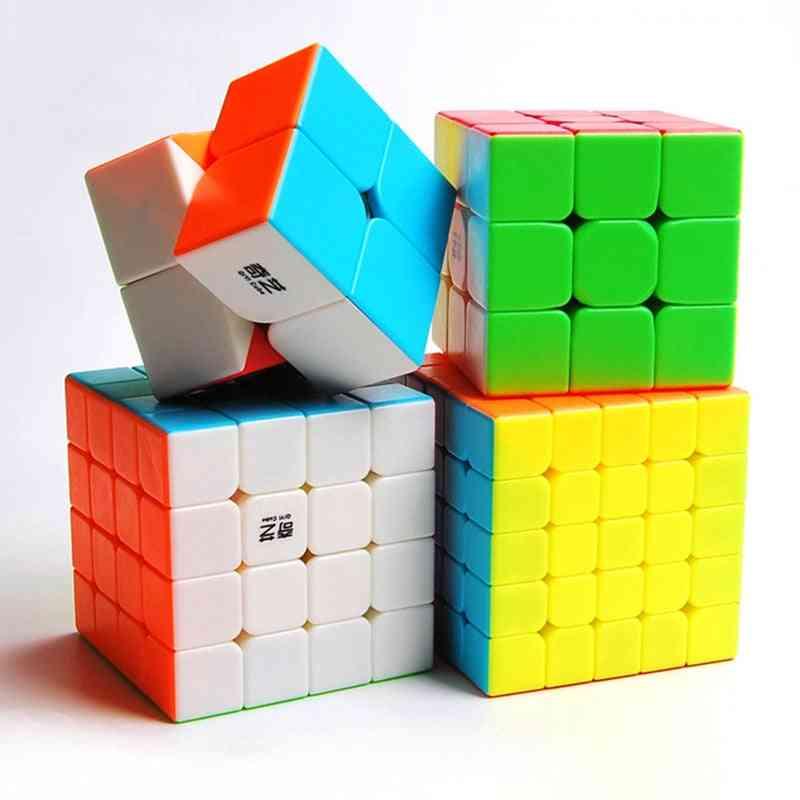 Magic Cube Bundle - Profissional Puzzle Warrior Speed Stickerless Game Toy