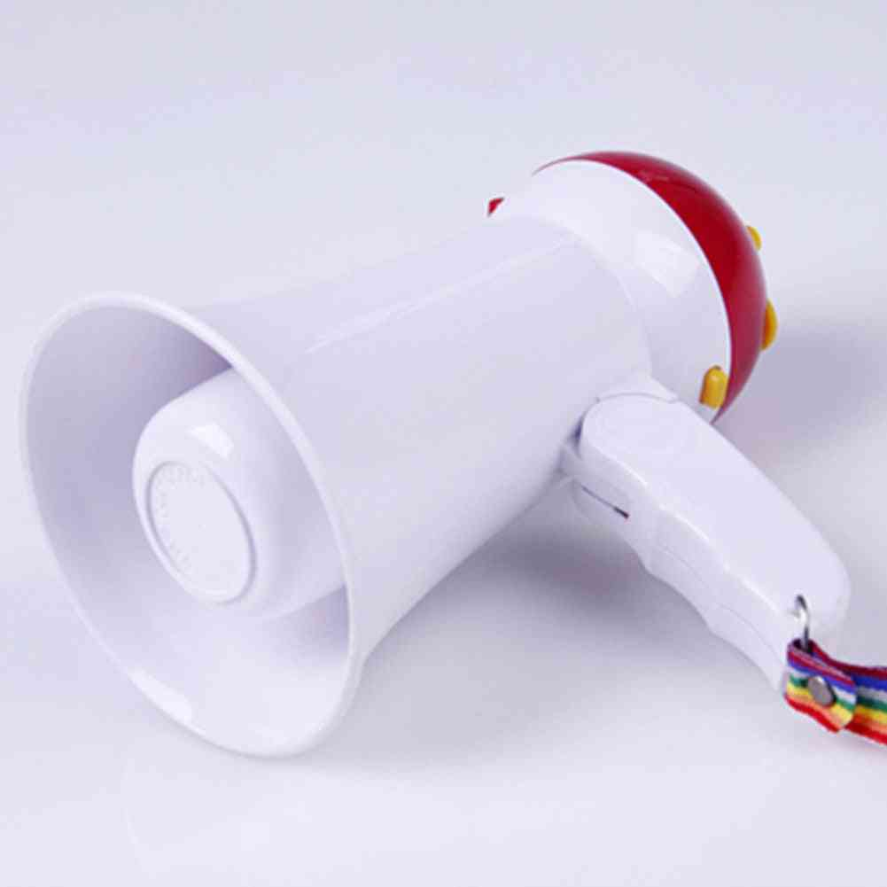5w Handheld Portable Horn Microphone - Foldable Mini Amplifier Megaphone