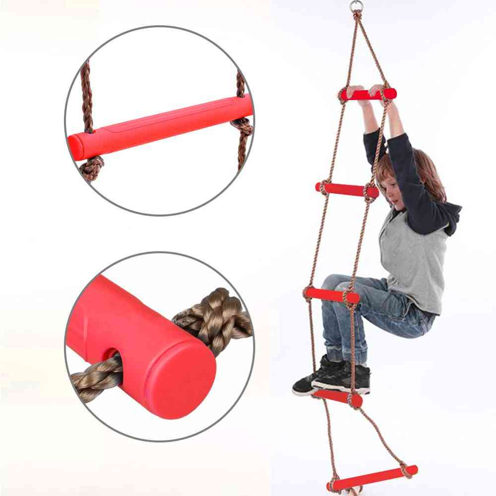Abrasion Resistant Pp Bars & Rope - Climbing Ladder For