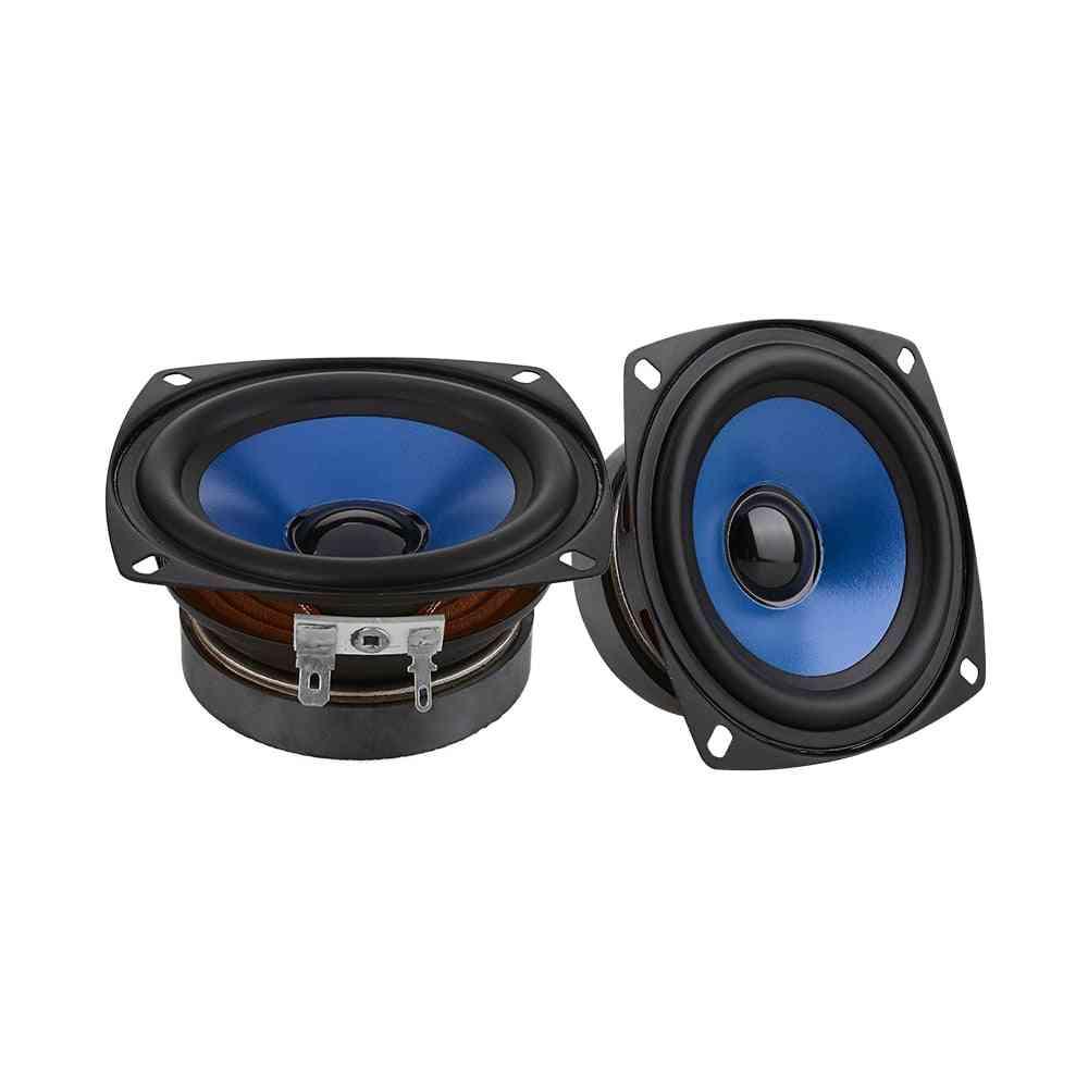 2pcs 3.5 Inch Full Range Audio Speakers Column