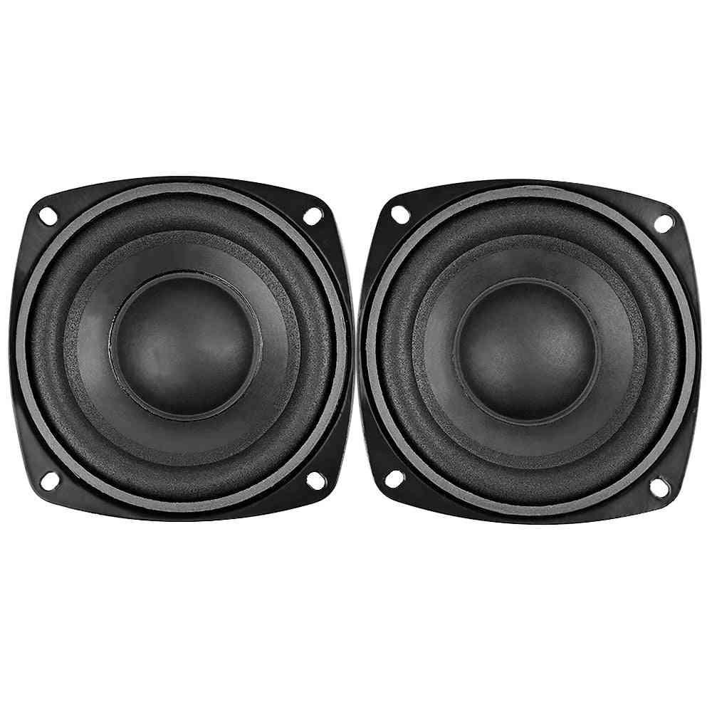 Subwoofer Audio Speaker Portable Mini Stereo 4 Ohm 8ohm For Car