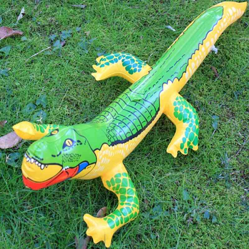 Inflatable Crocodile Blow Up Water - Crocodile Toy Alligator Balloon For Summer Beach Swimming Pool