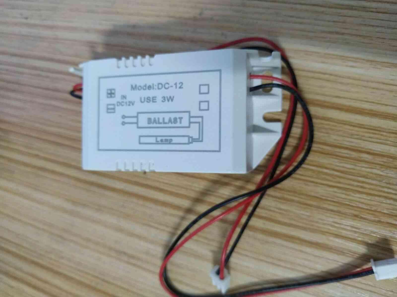 Dc 12v, Starter For Uv Germicidal Lamp