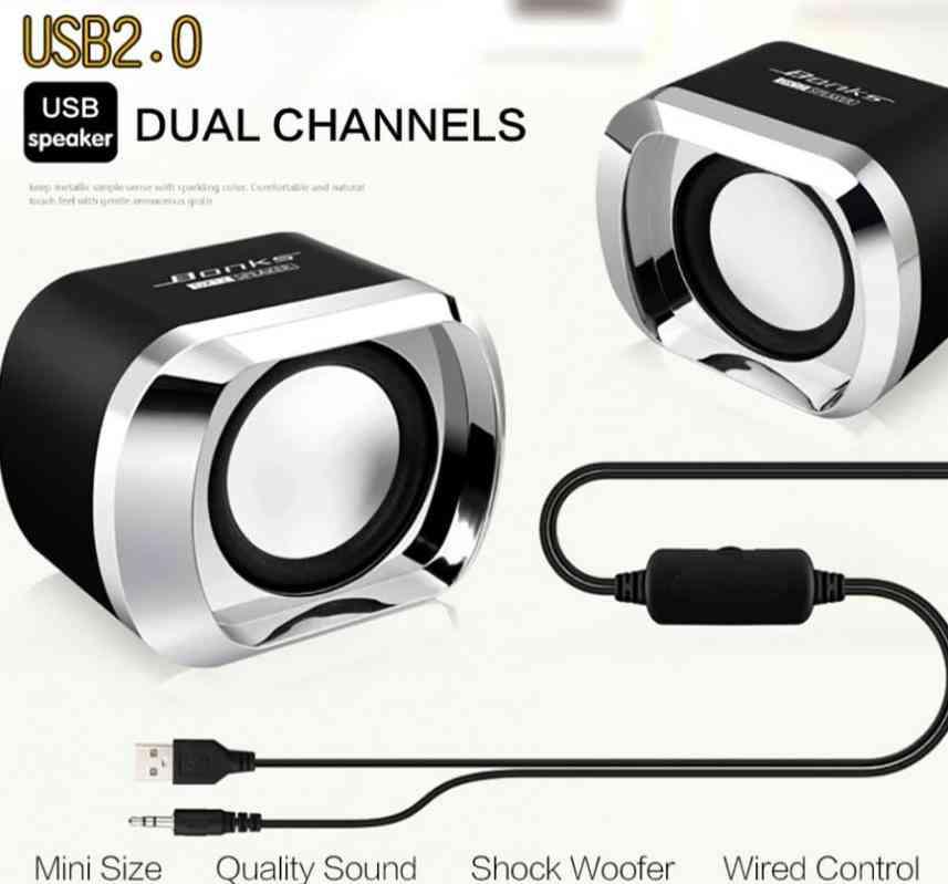 High Power Full Range Stereo Subwoofer And Pc Speaker, Portable Bass Music Dj Sound System