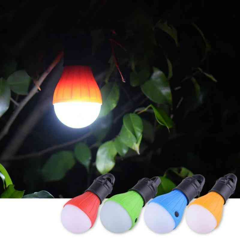 Portable Emergency Camping Tent Light - Waterproof Outdoor Hanging Bulb